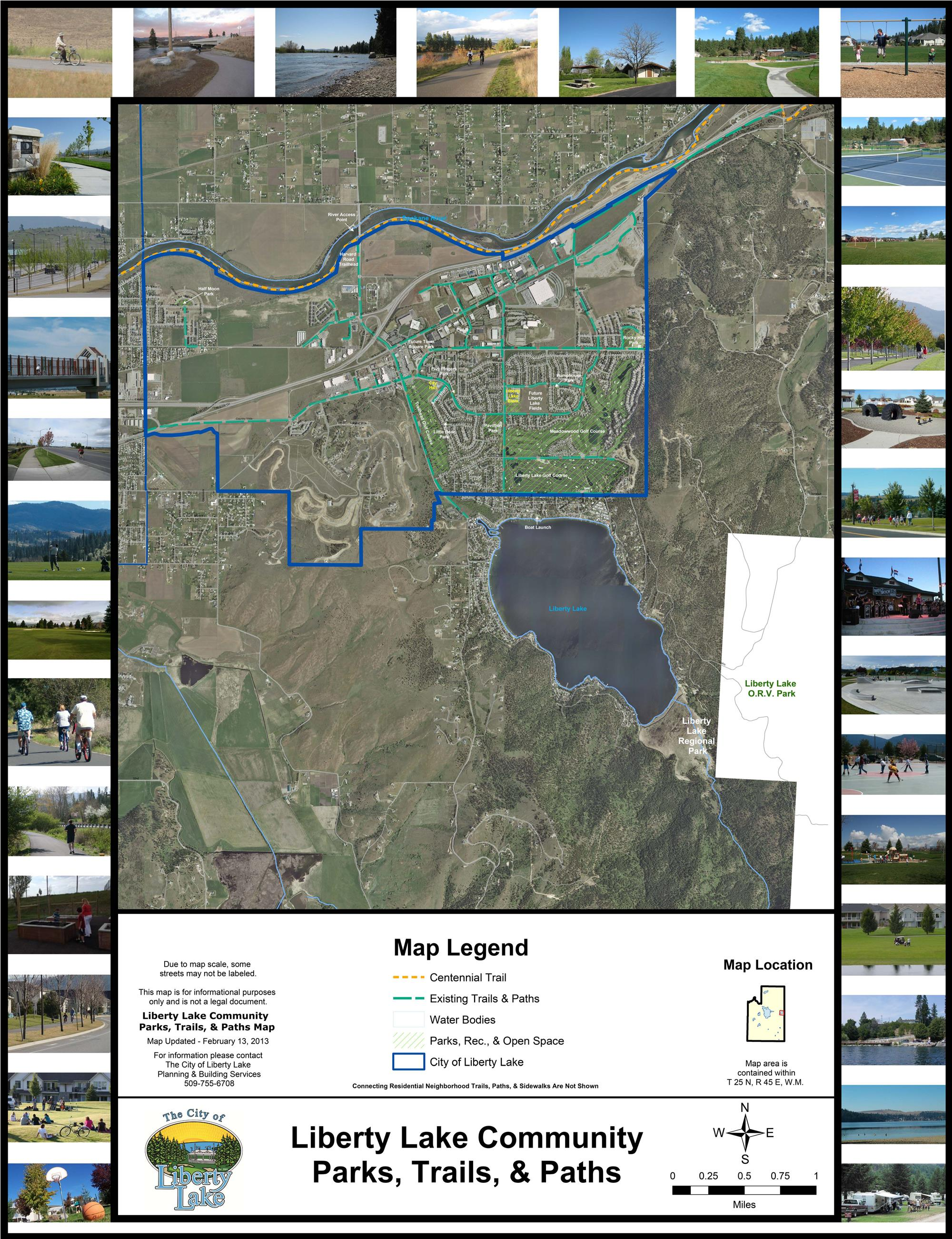 Liberty Lake Parks, Trails, and Paths with Pictures