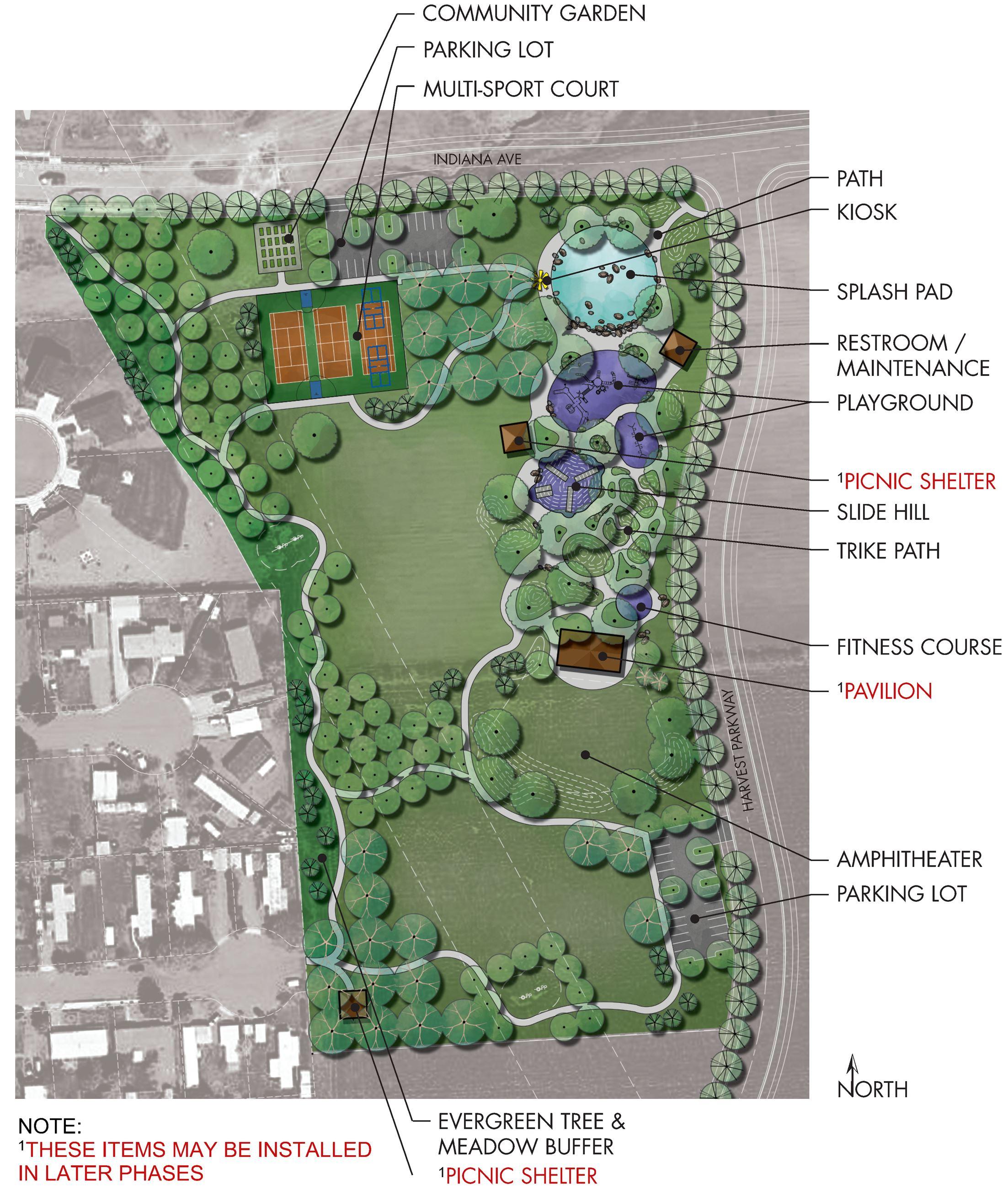 Home depot liberty lake wa - Master Plan Board 2