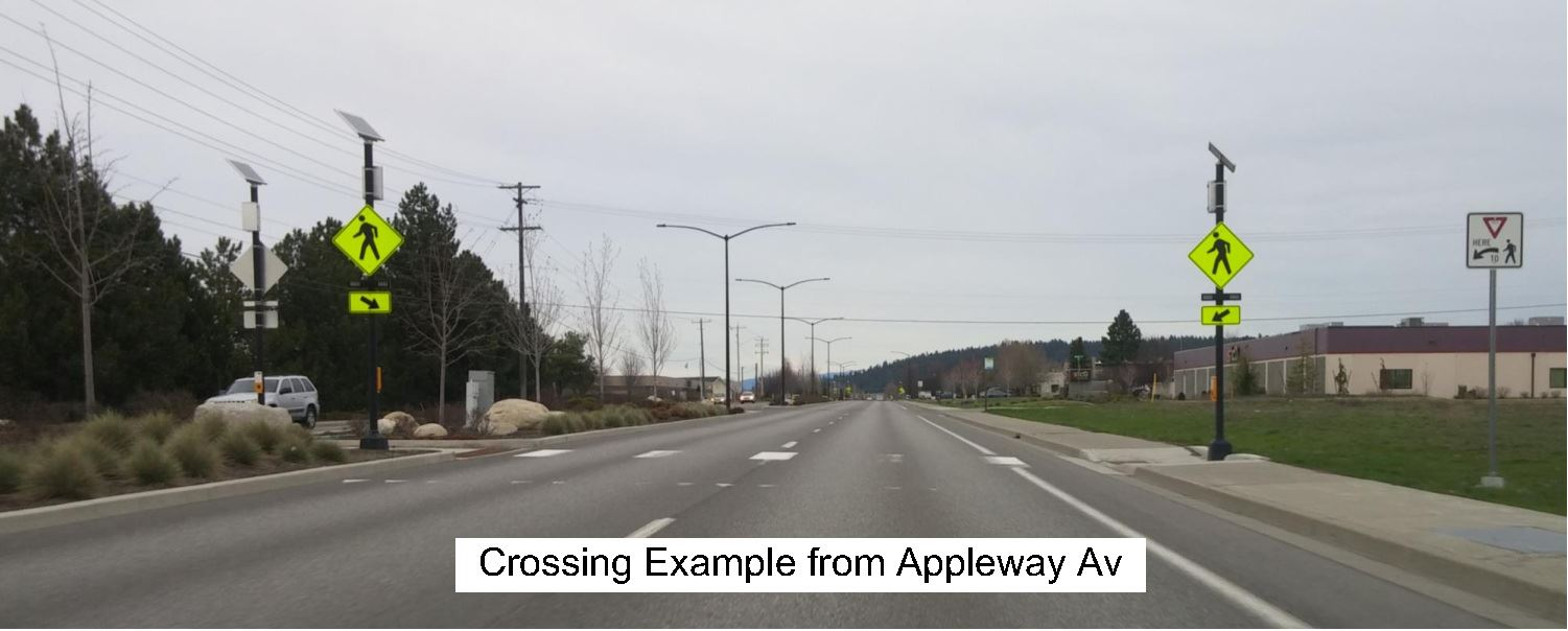 Crossing Example from Appleway Avenue
