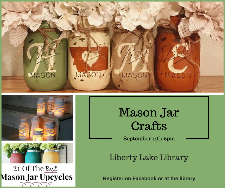 Mason Jar Crafts September 14th