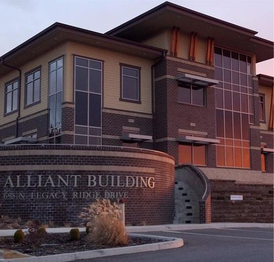 Exterior view of the Alliant Building
