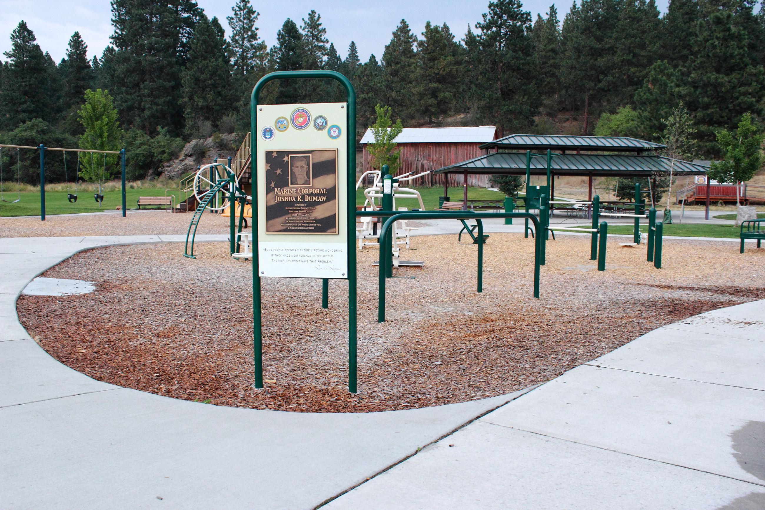 Rocky Hill Fitness Station