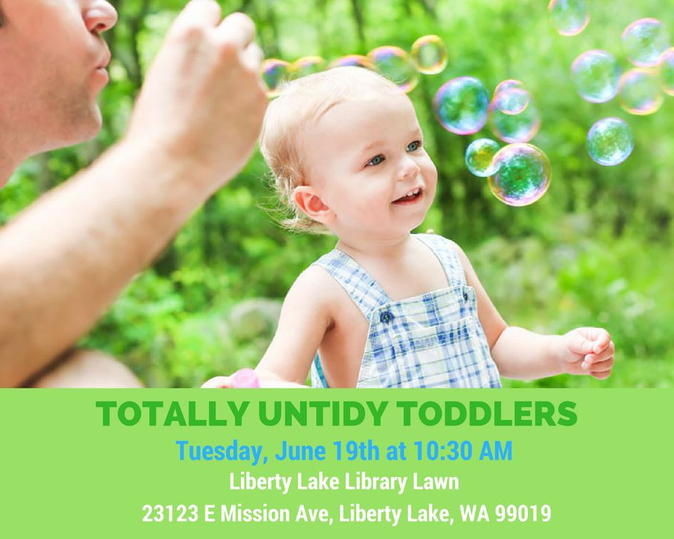 bubbles totally untidy toddlers