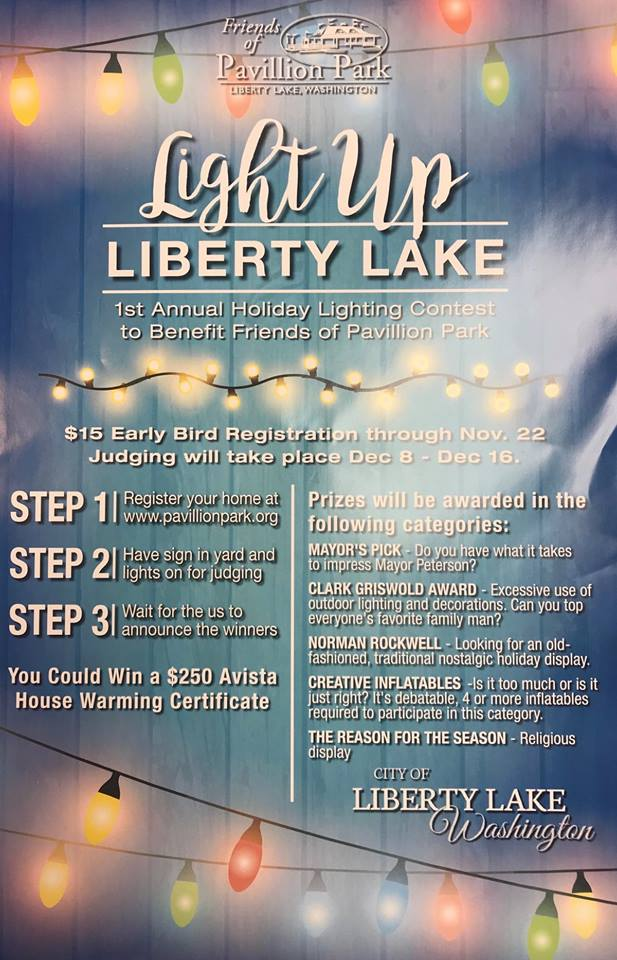 Light up Liberty Lake