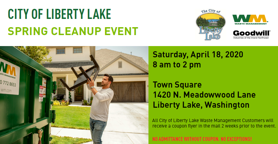Spring Clean Up Event Flyer 2020-WM Version