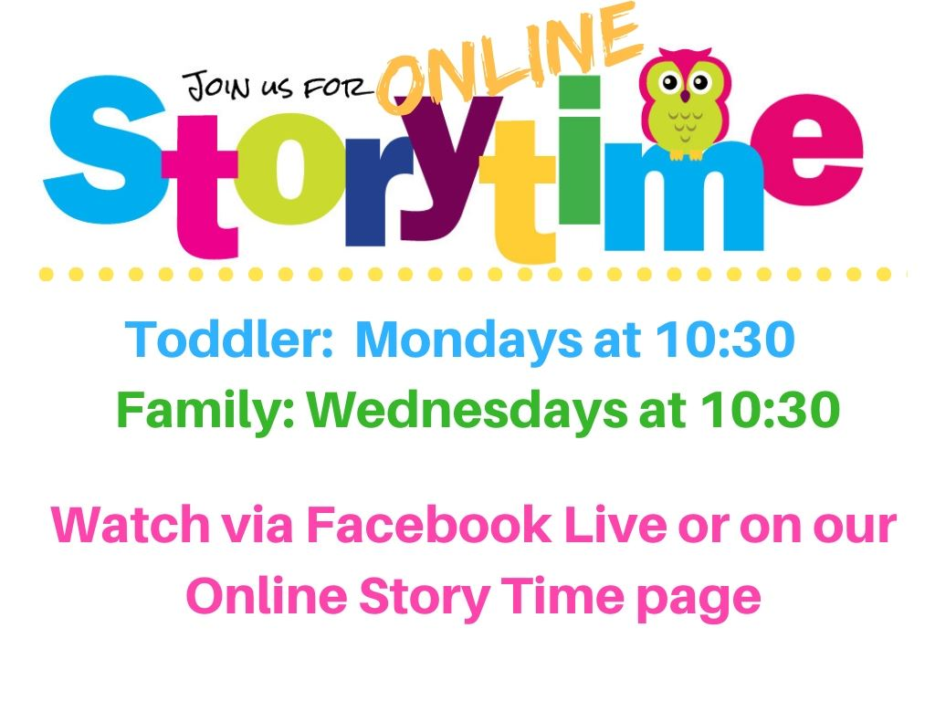 Online Storytime Poster