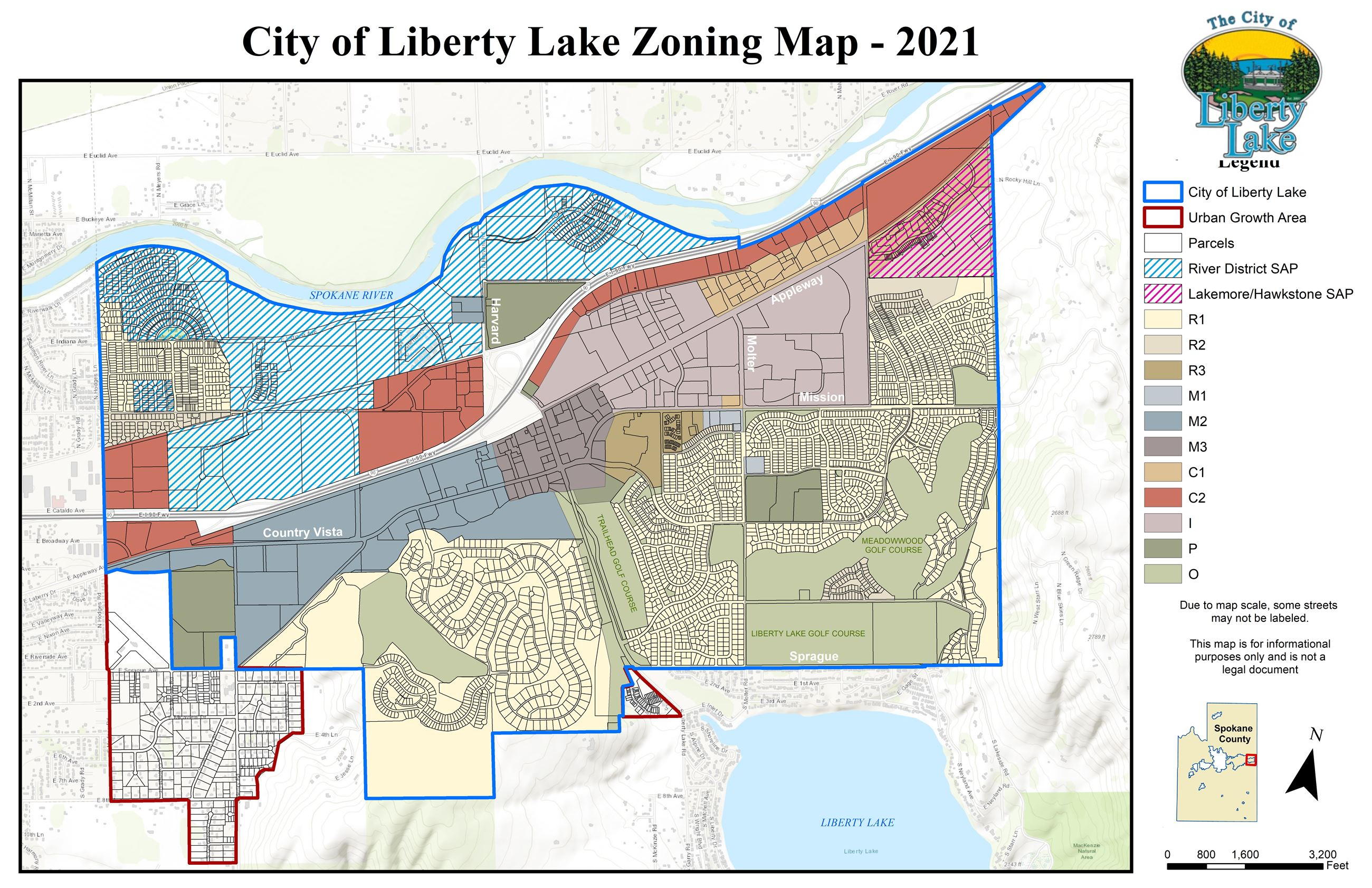 Adopted Zoning Map - Updated 2009