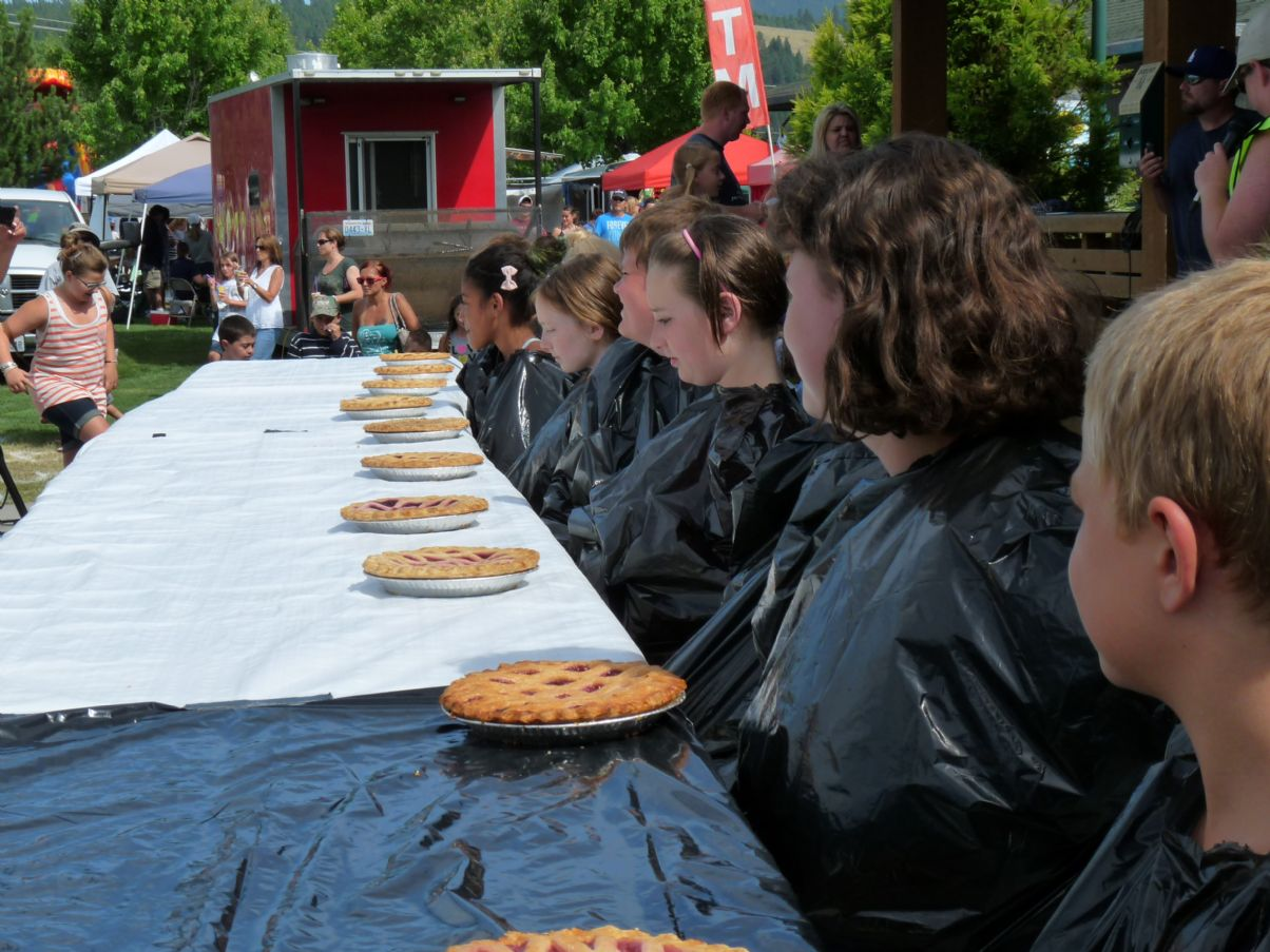 Pie Eating Contest Contestants 2013