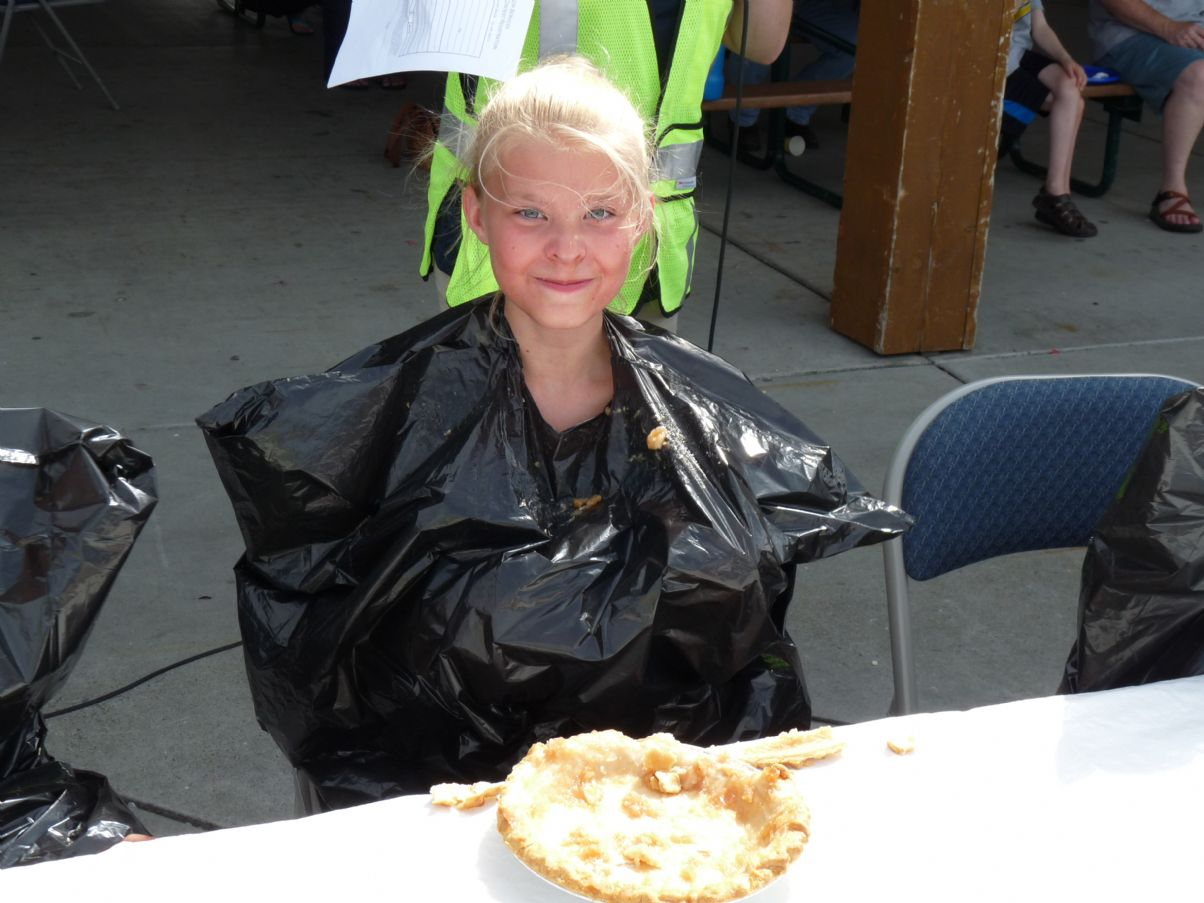 2013 Pie Eating Contest Winner